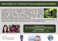 SP204-21 Approaches for Teaching Primary Geography Outdoors
