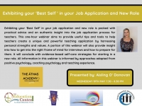 SP205-21 Exhibiting your 'Best Self ' in your Job Application and New Role