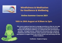 SUM06-21 Mindfulness & Meditation for Resilience & Wellbeing