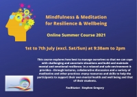 SUM03-21 Mindfulness & Meditation for Resilience & Wellbeing