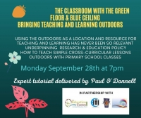 AUT 37- The Classroom with the Green Floor & Blue Ceiling   - Bringing Teaching and Learning Outdoors